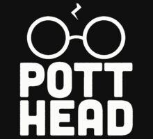 Pott Head Harry Potter One Piece - Long Sleeve