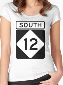 NC 12 - SOUTH Women's Fitted Scoop T-Shirt