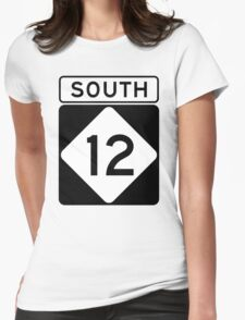 NC 12 - SOUTH Womens Fitted T-Shirt