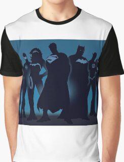 Superheroes Graphic T-Shirt