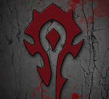 Horde Symbol iPhone Case by Erick Smith