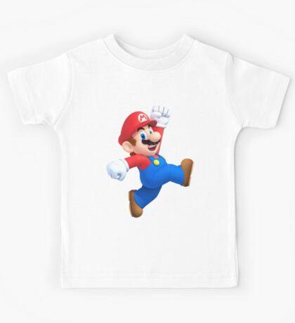 Mario - SUPER MARIO T SHIRT  Kids Tee