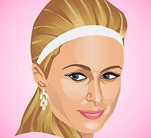 Paris Hilton by mikath