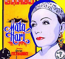 Poster of Mata Hari by Art Cinema Gallery
