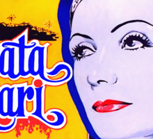 Poster of Mata Hari Sticker