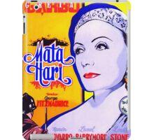 Poster of Mata Hari iPad Case/Skin