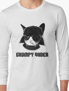 Grumpy Vader Long Sleeve T-Shirt