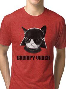 Grumpy Vader Tri-blend T-Shirt