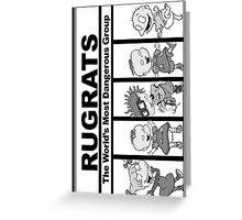 Rugrats N.W.A. Phone case Greeting Card