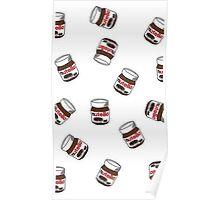 Nutella Jar Design Poster