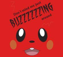 Buzzing Around! (Dedenne Pokemon) Kids Tee