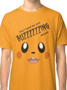 Buzzing Around! (Dedenne Pokemon) Classic T-Shirt