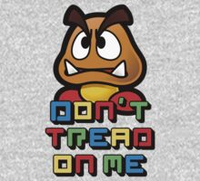 Don't Tread on Me - Goomba by Groatsworth