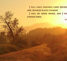 I Will Make Darkness Light - Card by Tracy Friesen