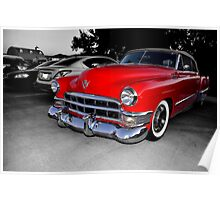 1949 Cadillac Convertible                (please view large) Poster