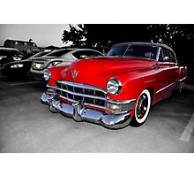 1949 Cadillac Convertible                (please view large) Photographic Print