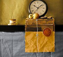 Clock on a Shelf by bgbcreative
