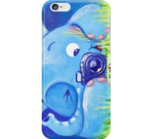 Photographer - Rondy the Elephant with photo camera iPhone Case/Skin