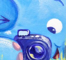 Photographer - Rondy the Elephant with photo camera Sticker