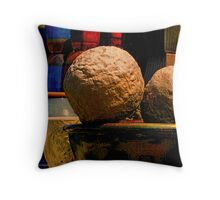 """ Elephant Nuts "" Throw Pillow"