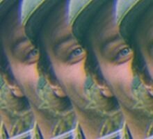 Trippy Mac Sticker