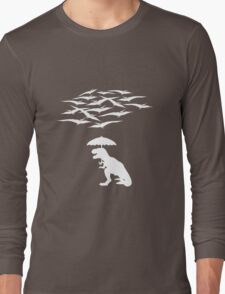 T-Rex vs the Pterodactyls Long Sleeve T-Shirt