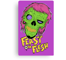 Feast On Flesh Canvas Print