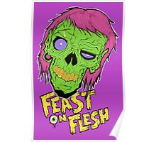 Feast On Flesh Poster