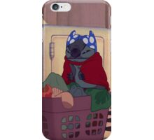 stitch is hero  iPhone Case/Skin