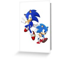 SONIC T-SHIRT Greeting Card