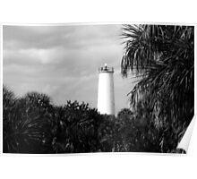 Egmont Key Lighthouse Poster