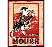 Chairman Mouse Photographic Print