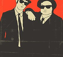 THE BLUES BROTHERS by JazzberryBlue