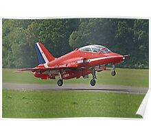 Red Arrow Take Off - Dunsfold 2013 Poster