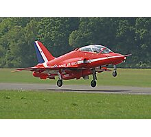 Red Arrow Take Off - Dunsfold 2013 Photographic Print