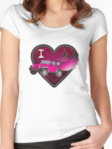 iheart Women's Fitted Scoop T-Shirt