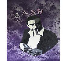 Johnny Cash Photographic Print