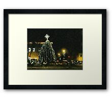 Sparkling In The Night Framed Print