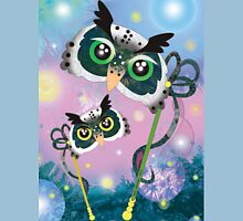 Dreamy Owls Unisex T-Shirt