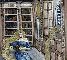 Rapunzel's Escape  by painted-lizard