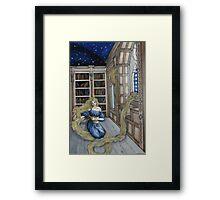 Rapunzel's Escape  Framed Print
