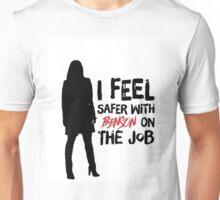 I Feel Safer With Benson On The Job Unisex T-Shirt