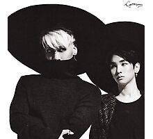 Jonghyun  and Key LOOOOOVE Photographic Print