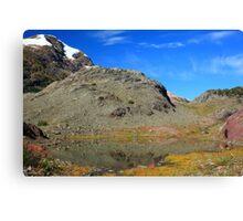 Glaciers and tarns III Canvas Print