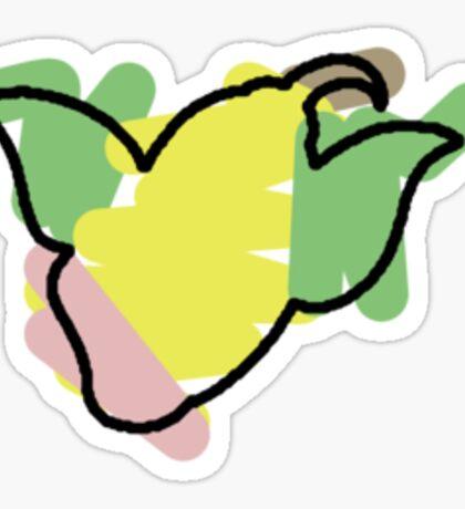 Weepinbell Splotch Sticker