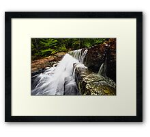 A Rush of Water Framed Print