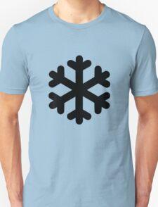 Snow Flake Symbol Unisex T-Shirt