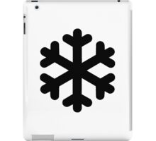 Snow Flake Symbol iPad Case/Skin