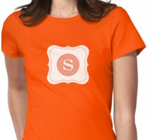 Monogram S Womens Fitted T-Shirt