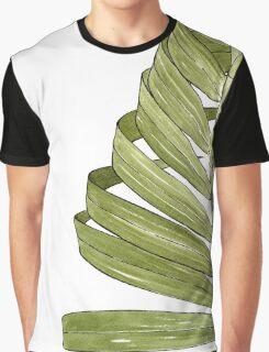 Palm Leaf - Olive Graphic T-Shirt